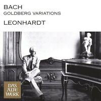 GUSTAV LEONHARDT - GOLDBERG VARIATIONEN  CD NEU BACH,JOHANN SEBASTIAN