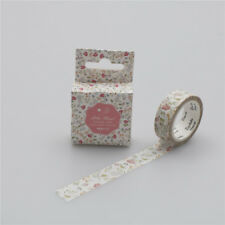 1.5cm*7m Spring flower Washi Tape DIY Paper Sticky Tool Adhesive Sticker Deco AT