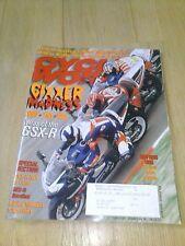 APRIL 2001 CYCLE WORLD MAGAZINE SUZUKI GSX-R100, GSX-R750, GSX-R600, GIXXER