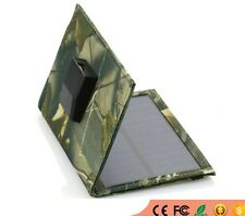 Foldable Solar Panel Charger USB Mobile Chargers for Cell phones mp3 GPS