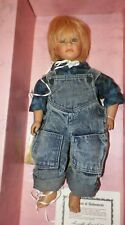 Vintage Annette Himstedt American Heritage Collection Timi Doll With Box 5194