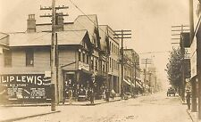 Philip Lewis Store and Street Scene in Belle Vernon PA RP Postcard c. 1907