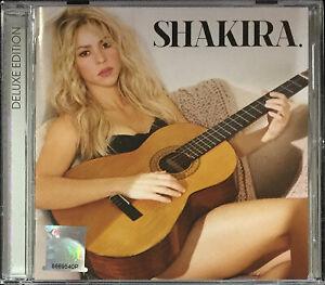 SHAKIRA Shakira 2014 MALAYSIA DELUXE Edition CD + 3 BONUS TRX RARE NEW SEALED