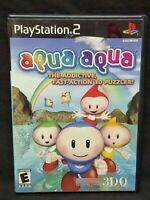 Aqua Aqua - PS2 Playstation 2 Game Tested Working Complete