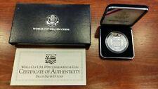Moneda Estados Unidos América USA Word Cup Usa 1994 coins plata proof .900