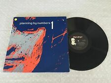 PLANNING BY NUMBERS 1 CATCH THE BEAT GATEFOLD 1982 AUSTRALIAN RELEASE LP