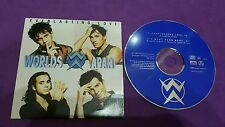 Worlds apart everlasting love I want your body P 96 France  card sleeve cd usato