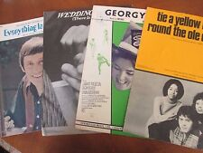 4 1960s-70s Hit Songs Everything Is Beautiful Wedding Song Georgy Tie A Yellow