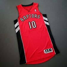 Authentic Demar Derozan Adidas Revolution 30 Raptors Jersey Size M 40 Mens