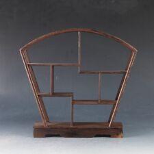 Pretty wood Stand /SHELF For Netsuke / Snuff Bottles Or Curios