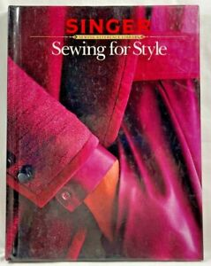 1985 Vtg Sewing For Style Book Singer Reference Library HC Tailoring Details8890