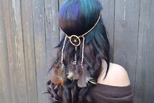 Dreamcatcher Feather Headband - Hair Accessories - Festivals - Raves - Boho