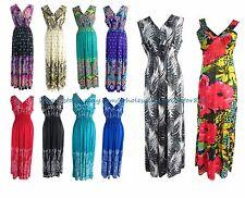 US SELLER - wholesale lot of 12 boho retro summer Women's Clothing long dresses