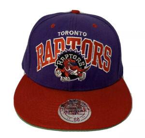 Toronto Raptors NBA Hardwood Classic Mitchell & Ness Adjustable Fit Hat Cap Wool