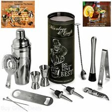 New Mixology Bartender Kit 12 Pieces Barware Set For An Awesome Drink Mixing