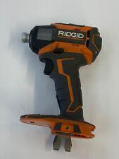 "Ridgid R86035  GEN5X 18V  1/4"" Impact Driver drill cordless - Bare Tool"