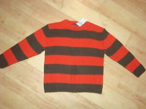 Boy's The Children's Place Striped Sweater 4 NWT