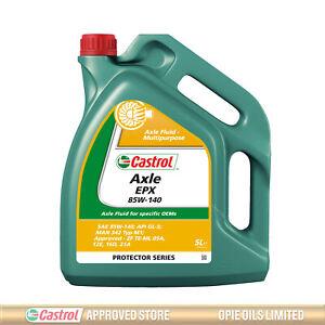 Castrol Axle EPX 85w-140 85w140 GL5 Multipurpose Axle Oil / Diff Oil 5 Litres 5L