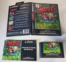 Sega Mega Drive zombies (Ate My Neighbours) - Embalaje original-instrucciones