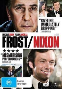 Frost Nixon DVD Michael Sheen Movie Drama - FREE POSTAGE AUSTRALIA