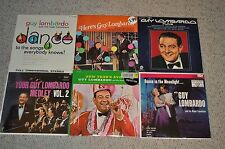 6 Vintage GUY LOMBARDO royal Canadians sealed RECORD ALBUMS New Years Eve + USA