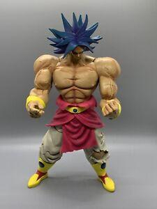 "Dragon Ball Z - Legendary Super Saiyan Broly (Blue Hair)- 11"" 2003 Action Figure"