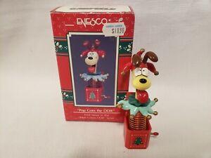 Enesco Garfield Pop Goes The Odie Treasury Ornament