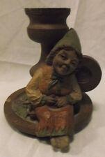 Mrs. Wink ~ Candleholder ~ Tom Clark Gnome ~ Cairn Studio, Tc '73 on back