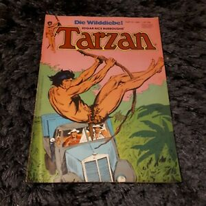 TARZAN 1980 Heft 13, schöner EHAPA Urwald Abenteuer Comic, Z1-2