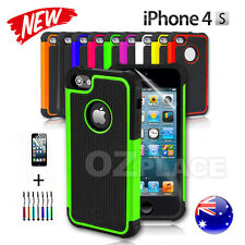 New iPhone 4 4S Case For Apple Heavy Duty Shock Proof Silicone Hard cover