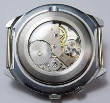 display  GLASS BACK Raketa 24 h watch polar antarctic , perpetual calendar