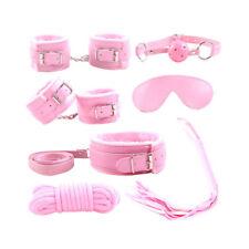 7 Pack / set SM Tool BDSM Love Bondage Eye Mask Hand Cuff  Restraints Straps Kit