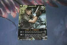 Leon S Kennedy Card - Resident Evil Deck Building Game - CH-026 -Outbreak Exp