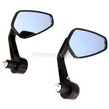 "For Yamaha FZR YZF R1 R6 R6S Motorcycle Rearview Handle Bar End 7/8"" Mirrors New"