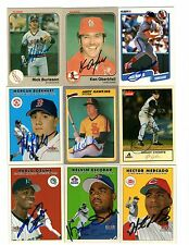 Hector Mercado signed 2000 Fleer Update #U32 Reds