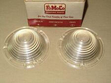 NOS 1954-56 Ford Passenger & Thunderbird Parking Lamp Lens Set