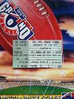 1991 AFL GRAND FINAL Football Record / Ticket +Poster HAWTHORN HAWKS Premiers