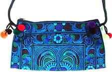 Handmade Thai Hmong Tribal Ethnic Embroidered Tote Shoulder Bag Handbag Purse B6