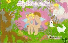 Sandylion Vintage Glittery CUPIDS 20 Page Blank Sticker Book Album RETIRED
