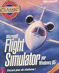 Jeux vidéo flight simulator PC
