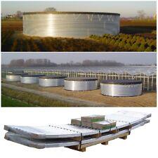 Cuve de Stockage Eau - Water Tank  24 m3 - Panneau Acier Cintre Galvanise -