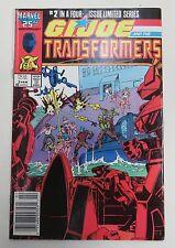 GI Joe Transformers Vol. 1 No. 2 February 1987 Very Fine Condition Marvel Comics