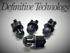 (Set of 4) Definitive Technology Top Cap End Cap Replacement Pressure Fit Snaps