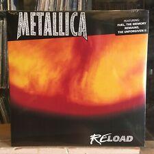 [ROCK/POP]~SEALED 2 DOUBLE LP~METALLICA~Reload~[2014~BLACKENED Issue]