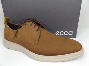 ECCO St.1 hybrid lite Men's Size US 13-13.5 (EU 45) Camel Dress Oxfords,  21171