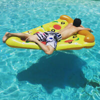 Adult Swim Water Toy Pizza Inflatable Float Outdoor Pool Swimming