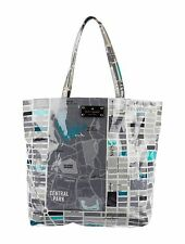 kate spade daycation New York City Map  Blue Gray Central Park Bag Purse Shopper