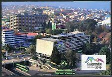 Guatemala 2015 Kulturhauptstadt Maskottchen Papagei Markenheft Booklet ** MNH