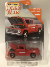 2020 Matchbox Moving Parts Red 1963 CHEVY C10 Chevrolet StepSide Pickup Truck