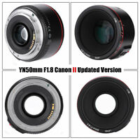 Yongnuo YN 50mm F1.8 II EF Auto Focus Large Aperture Prime Lens for Canon Camera